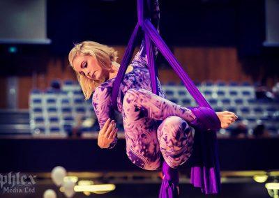 Aerial Silks – West Midlands Vegan Festival