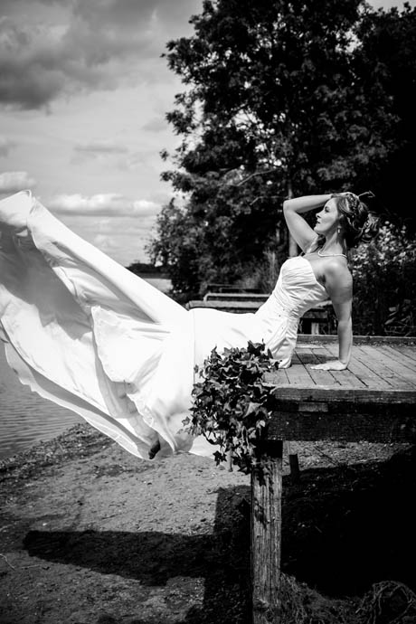Loretta-Hope-model-Birmingham-actress-wedding-dress-beauty-bride-photography-Sorrel-Price-Elysia-Charlie-makeup-hair-styling-black-and-white-photo