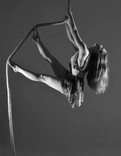 Loretta Hope Aerialist Model