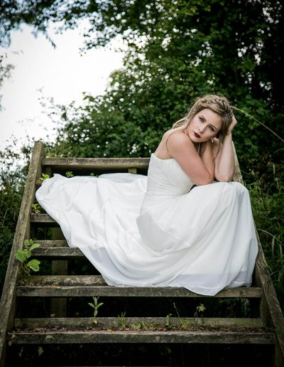 Loretta Hope Bridal Model